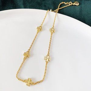 Tory Burch Logo Gold Bracelet